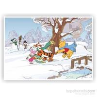 Disney Winnie The Pooh - Puzzle (Yapboz) 50 Parça