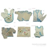 Hello Little Hastane Çıkışı Onikili Set / Mavi