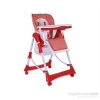 Babyhope Cd-H044 Mama Sandalyesi (Kırmızı)