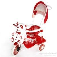 Tuğbasan Gezi Tenteli Panda Bisiklet-Kırmızı