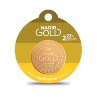 Nadir Gold 22 Ayar Külçe Gram Altın 2 Gr. (Yuvarlak)