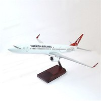 Thy Boing 737 1:100 Metal Standlı Model Uçak