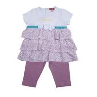 Zeyland Kız Çocuk Cicekli Tunik+Tayt Tk K-41Z662azf76