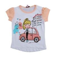 Zeyland Kız Çocuk Beyaz Tshirt K-51Z552svm51