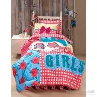 Kupon Tek Kişilik Uyku Seti Girls