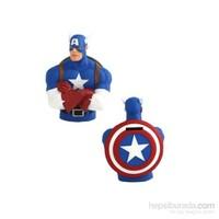 Captain America Bust Bank Kumbara