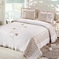 Cotton House Home Collection Angel Çift Kişilik Yatak Örtüsü - Sonia