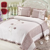 Cotton House Home Collection Angel Çift Kişilik Yatak Örtüsü - Amelya