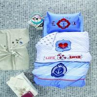 Luoca Patisca Ranforce Genç Complette Takımı Ocean Life-Mavi