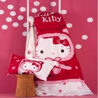Karaca Home Hello Kity Red Genç Effect Tek Kişilik Battaniye