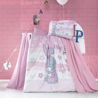 Luoca Patisca Akrilik Bebek Örgü Battaniye Seti Dormeur