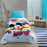 Taç Lisanslı Disney Mickey Hero Battaniye