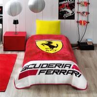 Taç Lisanslı Ferrari Battaniye