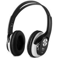 Snopy SN-2000 Siyah Mini SD Kart MP3 Oynatıcı FM Destekli Kulaküstü Kulaklık