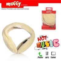 Codegen Muffy MF-016 Mikrofonlu BEYAZ ÖRGÜ Kulaklık
