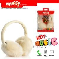 Codegen Muffy MF-018 Mikrofonlu BEYAZ PELUŞ Kulaklık