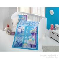 Evimemoda 3D Dijital Baskı Bebek Nevresim Takımı - Purple