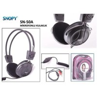Snopy Sn-50A Kafabantlı Mikrofonlu Kulaklık