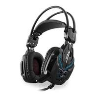 Snopy Rampage SN-R10 2m Kablo Led Oyuncu Siyah Mikrofonlu Kulaklık