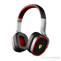 Ferrari by Logic3 R200 Scuderia Kulaküstü Siyah Kulaklık