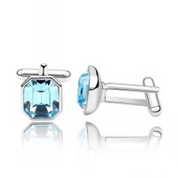 Betico Fashion Mavi Kübik Kol Düğmesi