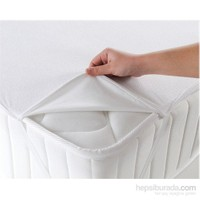 Walls Home Çift Kişilik Sıvı Geçirmez Alez 160X200-Beyaz (Yatak Koruyucu)