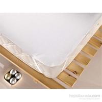 Eponj Home 2'Li Sıvı Geçirmez Alez 150X200 Düz Boya Beyaz