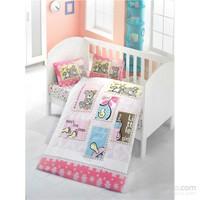 Victoria Ranforce Bebek Nevresim Uyku Seti Pink Dream