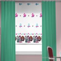 Taç Monster High Stor Perde Çocuk Odası