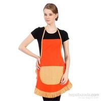 Yastıkminder Koton Oranj Mutfak İş Önlüğü