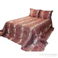 Yastıkminder Aktif A.Mor Gül Yatak Örtüsü