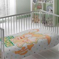 Taç Arı Maya Bebek Polyester Battaniye