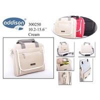 "Addison 300250 15.6"" Krem Notebook Çantası"
