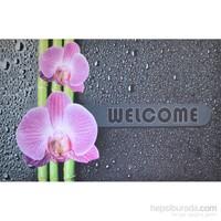 Giz Home Kıtty Kapı Paspası 40X60 Orkide