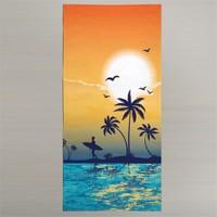 Nefnef Home 3D Summer Collection Plaj Havlusu