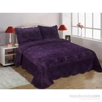 Casandra The City Çift Kişilik Leon Purple Yatak Örtüsü