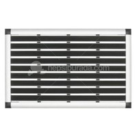 Desan - Kauçuk Fitilli Alüminyum Paspas - 41x60cm ELEGANT MAT