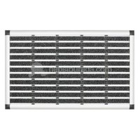 Desan - Exclusıve Halı Fitilli Alüminyum Paspas - 49x80cm ELEGANT MAT