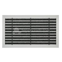 Desan - Exclusıve Halı Fitilli Alüminyum Paspas - 40x60cm ULTRA MAT
