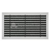 Desan - Exclusıve Halı Fitilli Alüminyum Paspas - 48x80cm ULTRA MAT