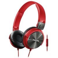 Philips SHL3165RD Mikrofonlu Kırmızı Kulaküstü Kulaklık