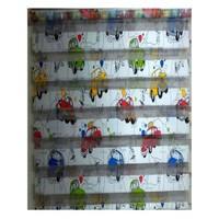 Brillant Arabalı Çocuk Odası Zebra Perde 100X200