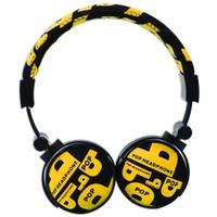 Snopy SN-99C Sarı Kumaş Renk Mikrofonlu Kulaküstü Kulaklık