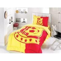 Gökay Sarı Kırmızı Taraftar Tek Kişilik Uyku Seti