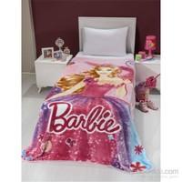 Mink Lisanslı Tek Kişilik Battaniye-Barbie 23