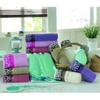 Şıkel Cotton Buta Yelizka 6'Lı Havlu 50X90