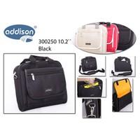 """Addison 300250 10.2"""" Siyah Bilgisayar Notebook Çantası"""