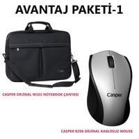 Casper Notebook Çanta + Kablosuz Mouse M101-B296