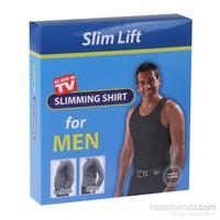 Slim Lift Atlet Tipi Dikişsiz Göbek Korsesi - Erkek Korse (Siyah)