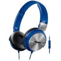 Philips SHL3165BL Mikrofonlu Mavi Kulaküstü Kulaklık